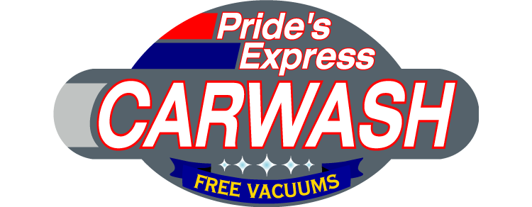 Pride's Express Car Wash Logo